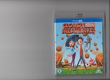 CLOUDY WITH CHANCE MEATBALLS 3D BLURAY / BLU RAY  KIDS