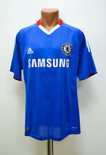 CHELSEA LONDON SIGNED 2010/2011 HOME FOOTBALL SHIRT JERSEY ADIDAS SIZE M ADULT