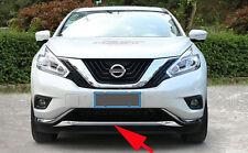 Front Grille Engine Cover Trim Molding for 2015-2017 Nissan Murano Fender Guard