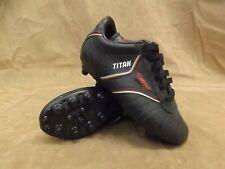 c8f31fd0b Nuevo stock viejo nuevo Mitre Titán Negro Rojo Zapatos Botines De Fútbol  DEPORTE Juvenil Talla 11.5