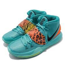 Nike Kyrie 6 EP VI Blue Orange Animal Irving Men Basketball Shoes BQ4631-300