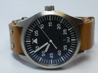 Noname X E.E.C. Men's Hybrid Watch W/ Leather Band  - Working
