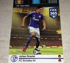 CARD ADRENALYN FIFA 365 CALCIATORI PANINI SHALKE 04 DRAXLER CALCIO