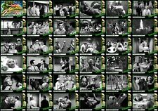 The Creature Walks Among Us 1956 movie storyboard trading cards. Black Lagoon.