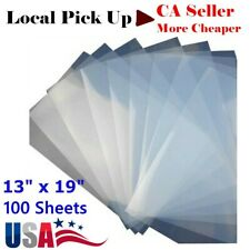 Pick Up 100 Sheets 13x19 Waterproof Inkjet Milky Transparency Film For Screen