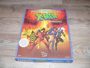 Vintage 1990 TSR Marvel Super Heroes Uncanny X-Men RPG Set #6896~NOT Complete