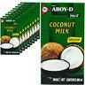 10 x Aroy-D Kokosmilch 500ml Kokosnussmilch Coconut Milk cremig ideal zum Kochen