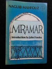 Naguib Mahfouz; Miramar - 1978-1st With John Fowles Introduction - Eastern Novel