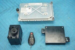 Dodge Challenger 3.6L Ignition Key Lock Replacement4pc Set 2011-2014 OEM