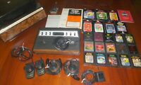 Sears TELE-GAMES Atari 2600 System & Center + 15 Game Lot