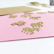 200pc Unicorn Gold Sparkle Glitter Confetti UK SELLER Anti-Shedding