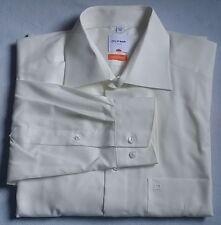 Olymp Camisa Luxor manga larga Slim Line KW 40 T.M BLANCO LISO BW 58 cm (os75)