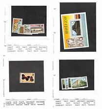 Lot of 122 Belize MNH Mint Never Hinged Stamps #134684 X R