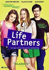 LIFE PARTNERS LEIGHTON MEESTER GILLIAN JACOBS ADAM BRODY NEW SEALED 2015 DVD W.S