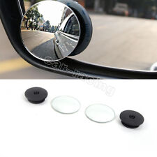 2PCS Car Rearview Mirror Blind Spot Side Convex View Wide Angle Van Adjustable