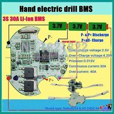 3S 11.1V 12V 30A BMS 18650 lithium Batterie li-ion battery Protection board