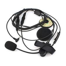 1-Pin Motorcycle Helmet Headset Microphone for YAESU Vertex VX-2R VX-3R VX-5R