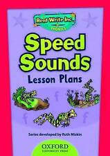 Read Write Inc. Phonics: Speed Sounds Lesson Plans, Acceptable, Miskin, Ruth, Bo