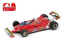 Ferrari 312 T5 Presentazione Fiorano 1980 #1 Jody #2 Gilles F1 Formula 1 1:43