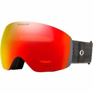 Oakley Flight Deck XL Snow Goggles Heathered Grey Black with Prizm Torch Lens