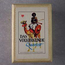 Bielefelder Spielkarten Das Völkerkunde Quartett 1951 (38059)
