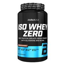 (EUR 32,86/kg) BioTech USA - Iso Whey Zero, 908g - Protein, Eiweiß, Laktosefrei