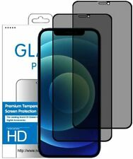 2 Films Protection écran Verre trempé Filtre ANTI ESPION PRIVACY iPhone 12 PRO