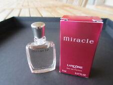 Miniature EDP Miracle de Lancôme 5 ml. Neuve + Boîte.