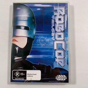 Robocop Trilogy (DVD 2009 3 disc set) Peter Weller Nancy Allen Region 4