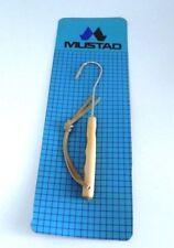 Raffio MUSTAD per la pesca, d'acciaio e manico in legno  W49