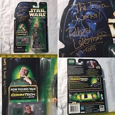 "STAR WARS P.O.T.F. ""ADMIRAL MOTTI"" FIGURE SIGNED by RICHARD LePARMENTIER! MIP!"