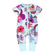 Baby Girl Clothes Floral Romper Bodysuit Jumpsuit Playsuit Outfit