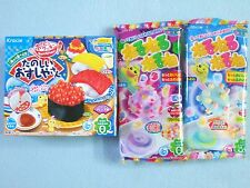 3 PCS SET Kracie Popin Cookin Japanese Candy Making Kit Sushi Nerunerunerune New