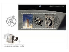 ZWEDEN 2019 50jr maandlanding ruimtevaart   50yrs moonlanding  FDC  postfris/mnh