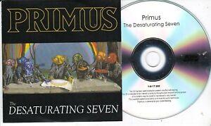 PRIMUS THE DESATURATING SEVEN RARE NUMBERED PROMO CD