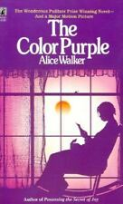 The Color Purple a novel by  Alice Walker paperback book ** FREE SHIPPING **