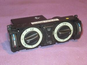 MERCEDES C CLASS W202 (1993-2000) HEATER CLIMATE CONTROL PANEL SWITCH (b)