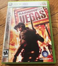 Tom Clancy's Rainbow Six: Vegas (Microsoft Xbox 360, 2006) GAME COMPLETE