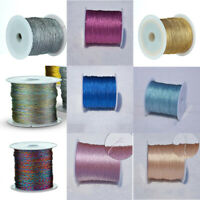 1Roll Dia 0.2/0.4/0.8/1.0mm Inelastic Strong Nylon Beading Cord Fit Diy Jewelry