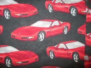 CORVETTE 50TH ANNIVERSARY PAJAMA PANTS Lounge Sleepwear Pockets 2003 Mens XL