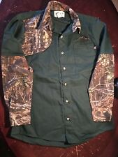 7a894d3232834 Clarkfield Outdoors Size M Long Sleeve Shirt W/ SuperFlauge Game By Lynch  Design