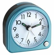 Despertador de viaje azules