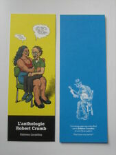 CRUMB ROBERT MY PROBLEM WITH WOMEN ANTHOLOGY LIMITED BOOKMARK RARE Comic Art