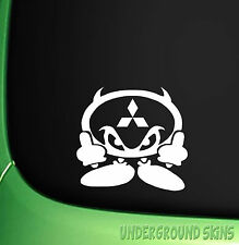 JDM CAR STICKER MITSUBISHI DEVIL MAN JDM  CAR STICKER  COLT LANCER EVO