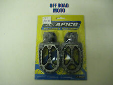Apico PRO-BITE Footrests/Footpegs. KTM 65-525 98-14. **Husaberg, Beta, Sherco**
