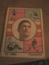 VAV -FIGURINA CALCIATORI 1951  - ROMA #  34 -  PANDOLFINI