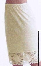 """Half Slip, White 27"""", Beautiful Lace Size 3XL  NWT"""