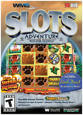 WMS SLOTS ADVENTURE: WAR FOR OLYMPUS PC OPEN BOX GUARANTEED UNUSED GAME