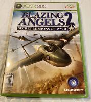 Blazing Angels 2: Secret Missions of WWII (Microsoft Xbox 360, 2007)