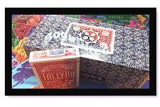 TALLY HO #9 Playing Cards 72 Decks Fan/Circle BacK Original